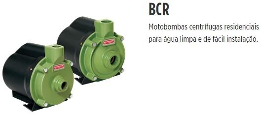 Bomba centrífuga (Para água salgada) BCR-2000